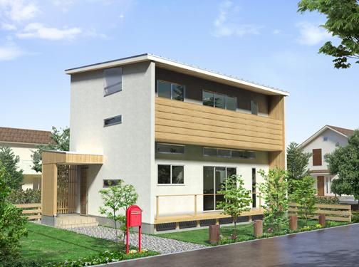イシケンホーム新築外観イメージ写真1