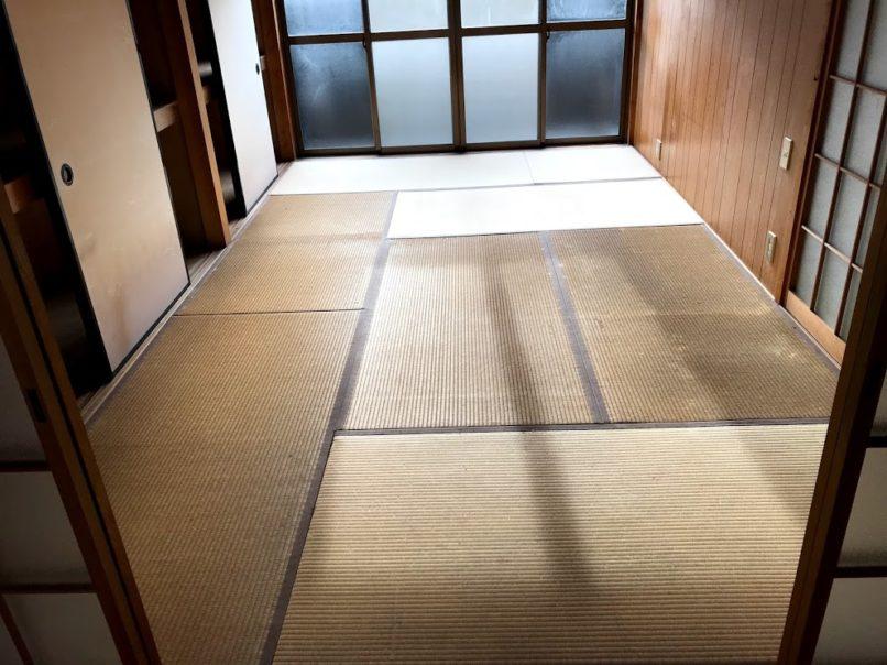 リフォーム前の和室の畳